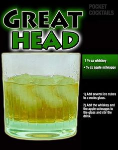 Millions of People Enjoy Pocket Cocktails. Check out our World Famous Drink Posters. Booze Drink, Liquor Drinks, Cocktail Drinks, Alcoholic Drinks, Beverages, Cocktail Recipes, Mixed Drinks Alcohol, Alcohol Drink Recipes, Alcohol Glasses