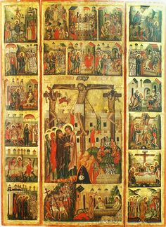 """Страсті Христові"" із с. Угерці кін 15-16 ст. НМЛ Greek Easter, Religious Paintings, Orthodox Icons, Christian Art, Mosaic Art, Catholic, Religion, Drawings, Pictures"