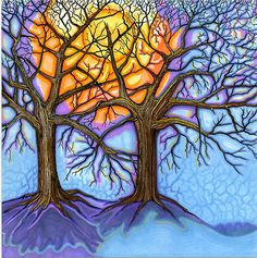 """Oaks In Hibernation"" by Catherine Howell | Redbubble"