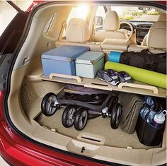 With summer days around the corner - and lots of fun to be had, tell us what you can fit in your Nissan boot?