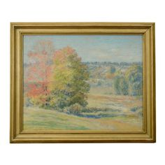 "A signed landscape by American artist Daniel Kotz. CIRCA: 20th Century DIMENSIONS: 20"" h x 24"" w PRICE: $1,450"