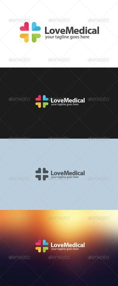Buy Love Medical Logo by Disenggol_Modot on GraphicRiver. An excellent logo for medical company, using simple love shape that duplicates into form some medical concept. Trauma, Clinic Logo, Pharmacy Design, Love Shape, Medical Logo, App Logo, Health Logo, Symbol Logo, Dark Backgrounds