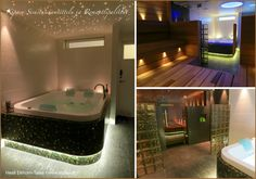 Sauna Corner Bathtub, Villa, Bathroom, Home, Washroom, Full Bath, Ad Home, Homes, Bath