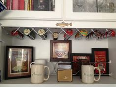 I Used Spice Rack Clips To Store My K Cups Inside The Door Of My Coffee Station Cabinet
