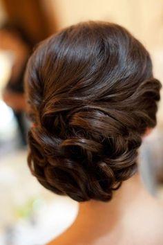 Wedding Side Bun for Medium Hair
