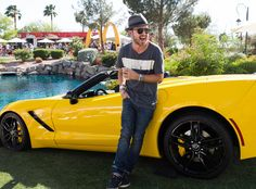 Aaron Paul at the McDonald's & Stingray Pool Party at the Bootsy Bellows Estate