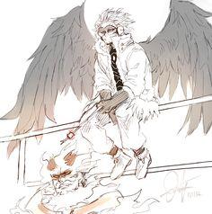 Hawks Endeavor || Boku no Hero Academia BnHA My Hero Academy ||