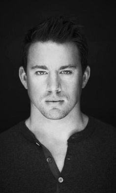 Channing Tatum - I can't tell if he's better in Black and White or in Colour.. Yummm