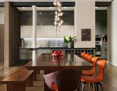 Dining Area Bond Street Loft | Axis Mundi NYC