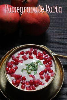YUMMY TUMMY: Pomegranate Raita Recipe - How to make Pomegranate Raita