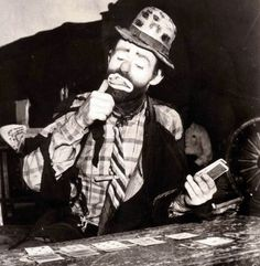"""Emmett Leo Kelly (December 9, 1898 - March 28, 1979) was an American circus performer, who created the memorable clown figure """"Weary Willie"""", based on the hobos of the Depression era."""