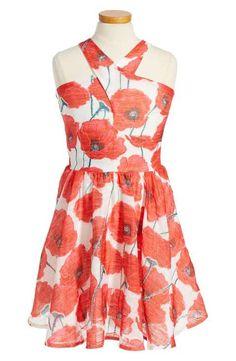 Miss Behave Winona Floral Dress (Big Girls)