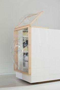 Showcase_Counter_at_You_ARE_HERE-Studio_Thier&VanDaalen1 #design #pin_it @mundodascasas Veja mais aqui(See more here) www.mundodascasas.com.br