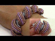 Tutorial contromaglia di perline - come creare un'asolina per ciondoli (2/2) - YouTube