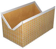DIY Rabbit Nesting Box  Keep your baby rabbits safe with this simple DIY rabbit nesting box.