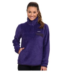 Patagonia Re-Tool Snap-T® Pullover Violetti - Tempest Purple X-Dye - 6pm.com