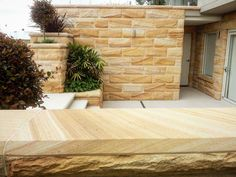 Beautiful Banded Rock face Sandstone Cladding is made from Australian Sandstone. This product highly sort after and traditionally used in many historic buildings throughout Australia Sandstone Texture, Sandstone Cladding, Natural Stone Cladding, Natural Stone Wall, Natural Stones, Sandstone Fireplace, Sandstone Wall, Sandstone Paving, Stone Supplier