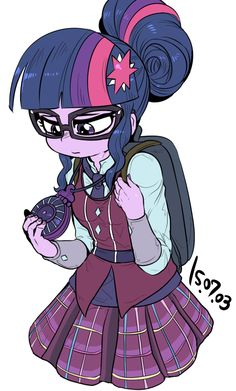 twilight sparkle from new equestera girls friendship games