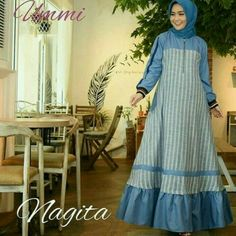 Fn NAGITA SALUR pr001 Harga 93.000 Bahan balotelly mix katun Ukuran all size fit to L Informasi dan pemesanan hubungi kami SMS/WA +628129936504 atau www.ummigallery.com Happy shopping #jilbab #jilbabbaru #jilbabpesta #jilbabmodern #jilbabsyari #jilbabmurah #jilbabonline #hijab #Kerudung #jilbabinstan #Khimar #jilbabterbaru #jilbab2018 #jilbabkeren #jilbabmodis #bajumuslim #gamis #syari #maxidress #maxi #atasanwanita #atasanmuslim Plaid Fashion, Abaya Fashion, Muslim Fashion, Fashion Outfits, Gaun Dress, Muslim Long Dress, Simple Long Dress, Africa Dress, Hijab Trends