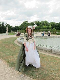 Mathilde in a robe a la turque