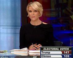 Election observers were wowed by Megyn Kelly's soft wave crop
