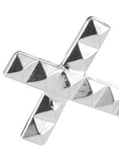 D Knights Cross Cufflinks Silver