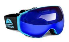 Spherion Gear Ski Goggles + Detachable Amber Lens, Size: One size, Blue Best Ski Goggles, Snowboard Goggles, Snow Boots, Winter Boots, Snowboarding, Skiing, Dirt Bike Gear, Fun Winter Activities, Best Skis