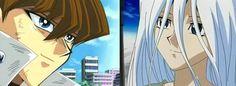 Seto Kaiba and Kisara Smile - Yu Gi Oh