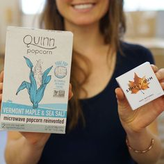 #maplelove! Meet our friends @simplygum - cleaned up & delicious! #matching #reinvented #fallflavors by quinnpopcorn