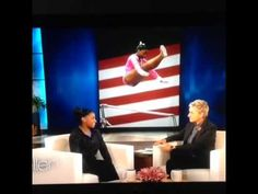 ELLEN'S GREATEST MOMENTS-gymnast Simone Biles- what an inspiration to young women! I have many more Ellen clips on my free Pinterest account called Revolutionize Health #ellen #ellenshow #ellendegeneres #theellenshow #revhealth #simonebiles #olympics #gymnastics #gymnast