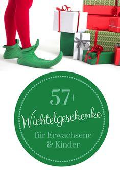 57+ lustige & kleine Wichtelgeschenke // Wichtelgeschenk Ideen für Männer, Frauen, Kinder & Kollegen