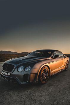 | Continental GT by Стелиян Стоянов | ©   Mean Bentley GT