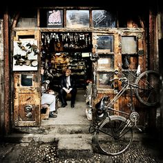 Old shop in Damascus, Syria.