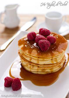 Pancakes allo yogurt, ricetta per la colazione | Ho Voglia di dolce