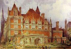 Cornelius Vanderbilt II mansion detail