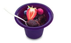 2 Minute Chocolate Cake Just Desserts, Dessert Recipes, Yummy Recipes, Epicure Steamer, Fast Healthy Meals, Healthy Food, Healthy Eating, Epicure Recipes, Individual Cakes