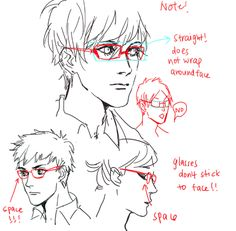 Glasses reference