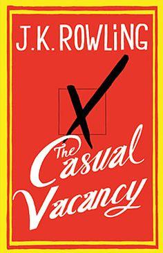 J. K. Rowling 'The Casual Vacancy' cover revealed | Shelf Life | EW.com
