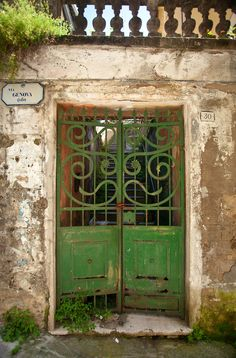 Painting these doors would make them so beautiful.