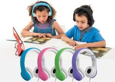 Set of 4 Connect+ Wired Headphones