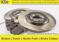 Repairs and replacement at our Bronkhorstspruit and Delmas branches for and Brake Calipers, Brake Pads, Branches