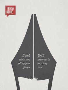 Cartel de Rayan McArthur con una frase de Tomas Moore