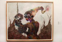 "Wangechi Mutu, ""Second Born,"" (2013) Art Basel 2013"