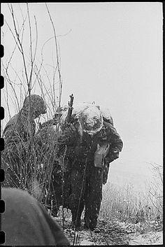 Korean War - Marines in the Snow