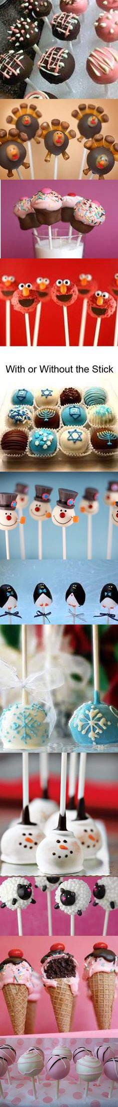 Fun & Easy Cake Pops - Robin Sampson's Blog : Robin Sampson's Blog