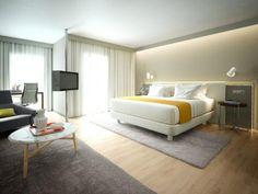 Hotel room in Lisbon, Javier Gonzalez