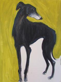Sally Muir painting