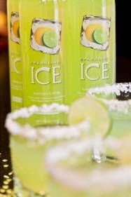 Celebrate National Margarita Day with This Figure-Friendly Recipe-sparking ice low calorie margarita
