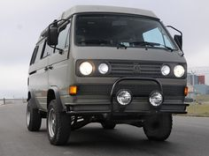 "Werke 1 | Automotive Restoration: 1988 Westfalia Syncro ""Greywolf"""
