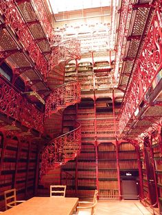 The Old Library, The Hague, The Netherlands - I will go to the Netherlands just to see this. I could live in that room. Forever.